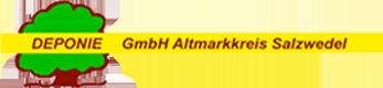 Logo Deponie GmbH Altmarkkreis Salzwedel